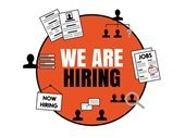 We are hiring logo