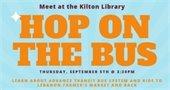 Hop the Bus event promo