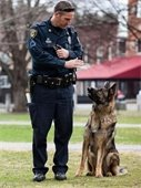 Officer Tracy and K9 Briggs