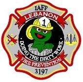 Lebanon Fire Prevention badge