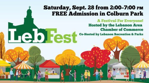 LebFest event September 28 from 2pm to 7pm in Colburn Park