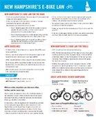 New Hampshire's e-bike law snippet