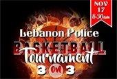 Lebanon Police Basketball Tournament 3 on 3
