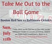 Take me out to the ball game promo