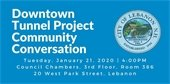 Downtown Tunnel Project Community Conversation