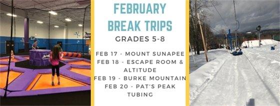 February Break Trips