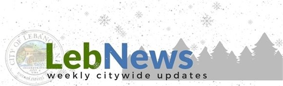 LebNews logo with winter scene
