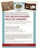 Historic Mills Presentation Flyer