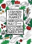 Lebanon Farmers Market Flyer