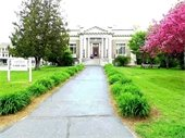Lebanon Lebanon Library in springtime. Photo submitted by Pat McGovern.