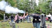 4th Annual Dedication Ceremony for the Civil War Veterans adopted 2016-2017. Photo submitted by Fran Hanchett.