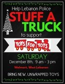flyer for stuff a truck event