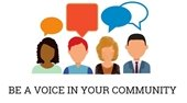 Be a voice in your community
