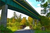 A beautiful day for a walk down on the Mascoma River Greenway. Photo submitted by Jon Merrill.