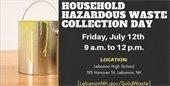 Hazardous Waste Collection day promo