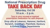 National Prescription Drug Take Back Day promo
