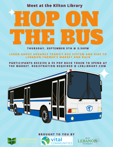 Hop on the Bus informational flyer Opens in new window