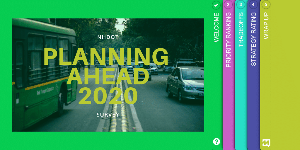 NHDOT Planning Survey