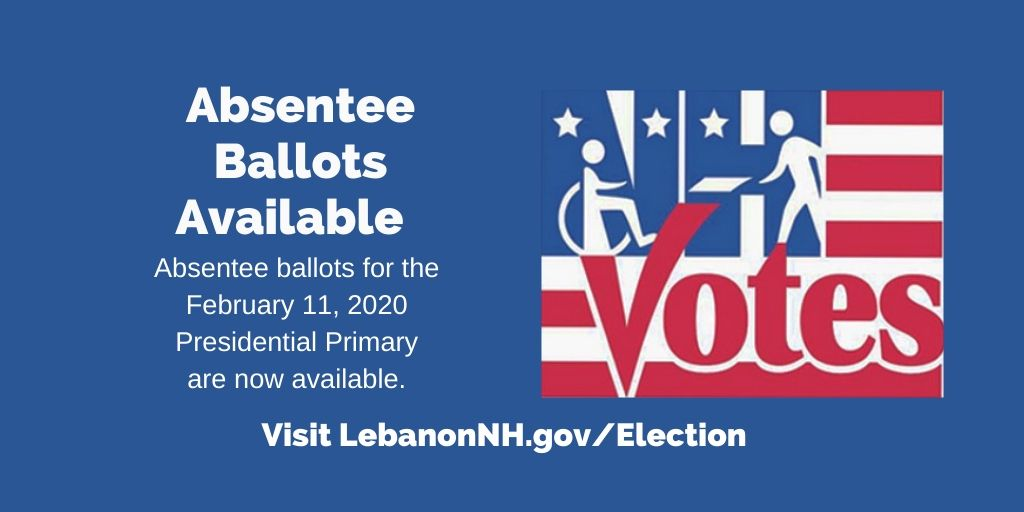 Absentee Ballots Available with NH Votes logo