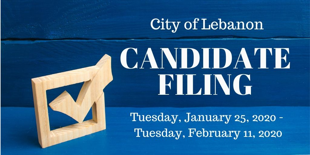 City of Lebanon Candidate Filing promo