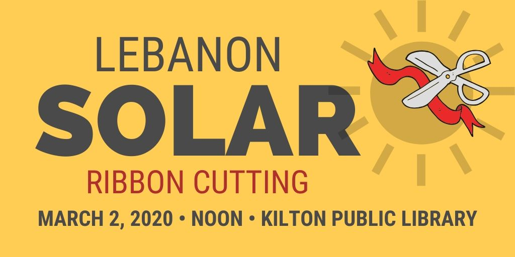 Lebanon Solar Ribbon Cutting Opens in new window