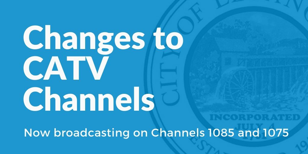 CATV Channel Change