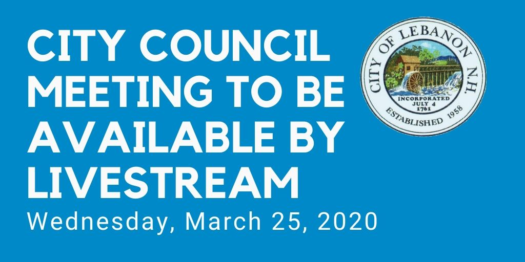 March 25 Council Meeting