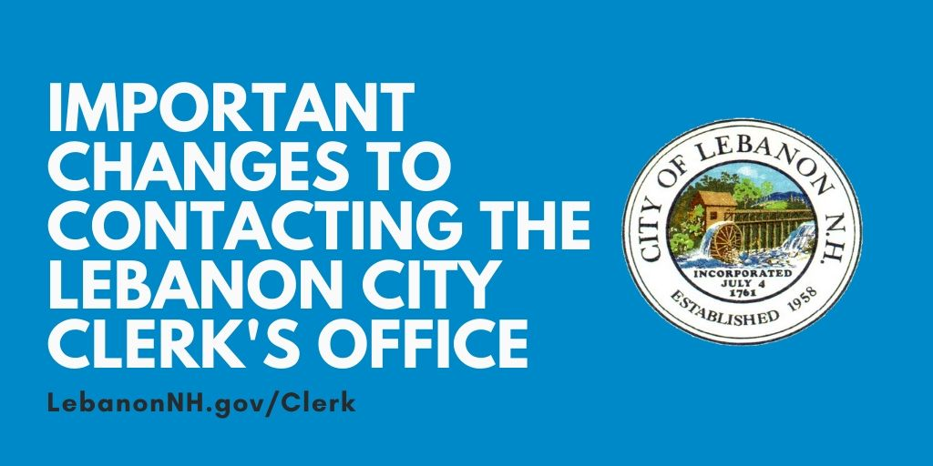 Changes to contacting the City Clerk's Office