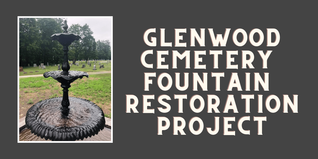 photo of Glenwood Cemetery Fountain