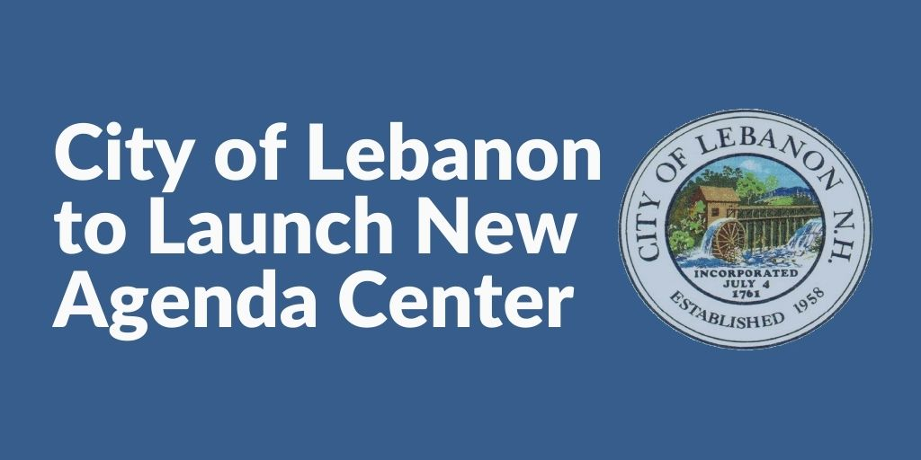 City of Lebanon to launch new agenda center