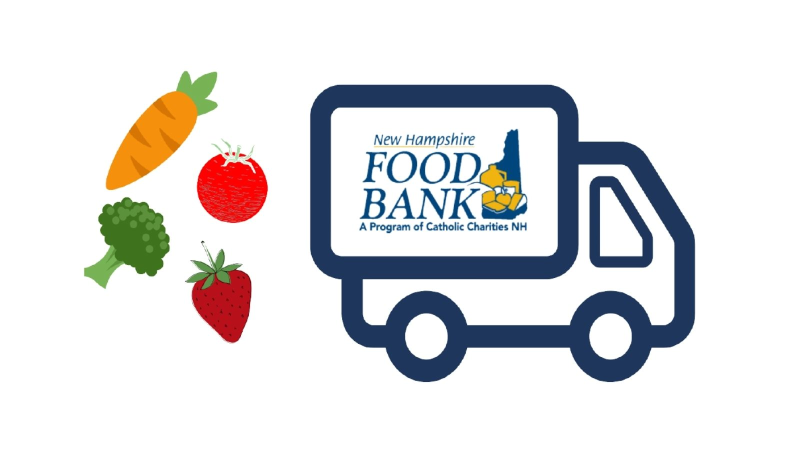 NH Food Bank Truck Mobile Food Pantry Promo Opens in new window