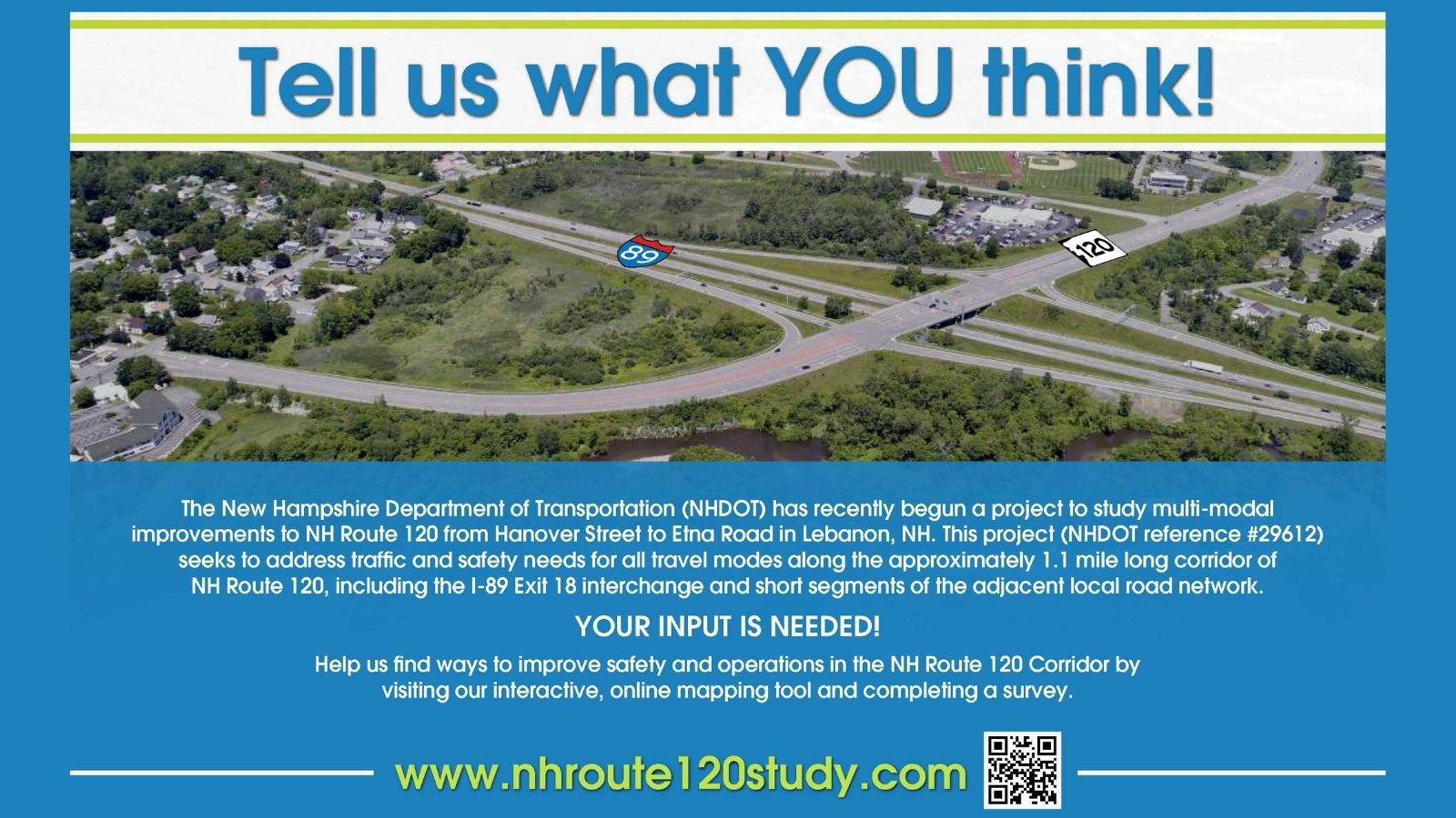 NH Route 120 Study: Tell us what you think