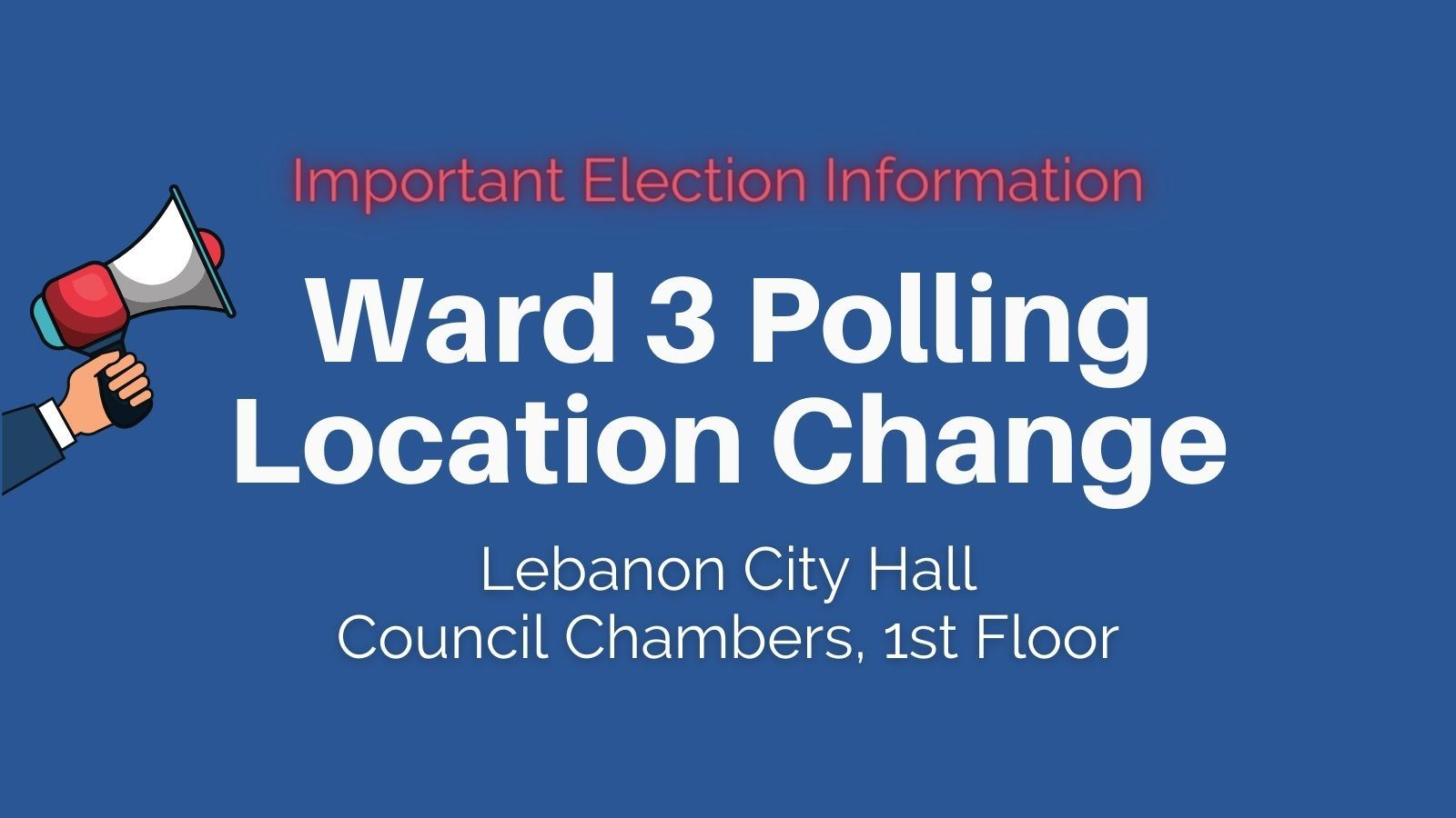 Polling Location Change