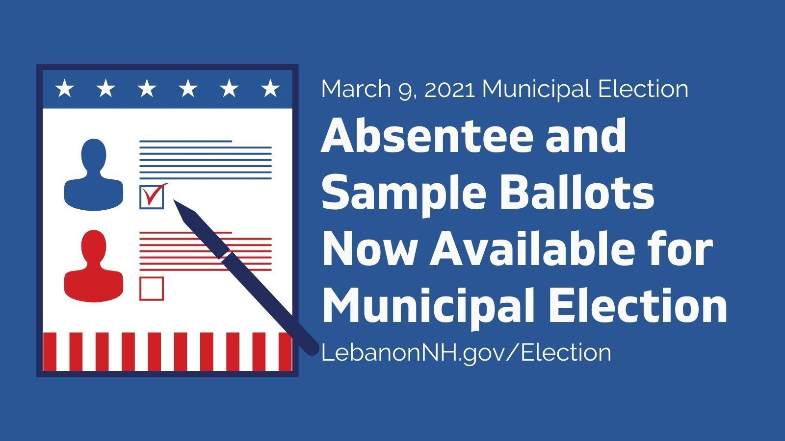 Absentee and Sample Ballots