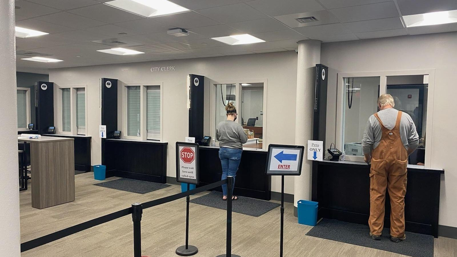 City Clerk Counter Area