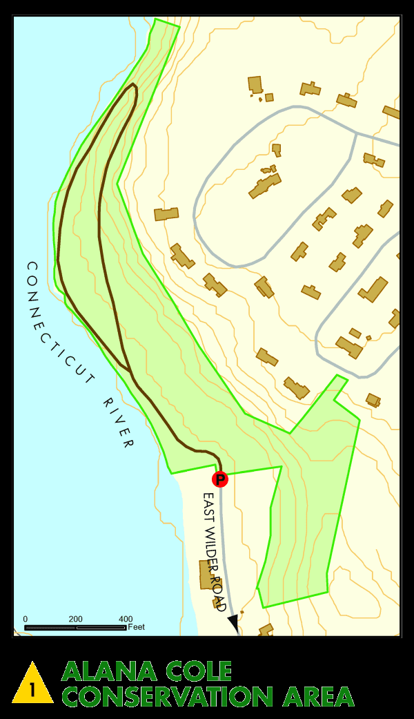 Alana Cole Conservation Area Map