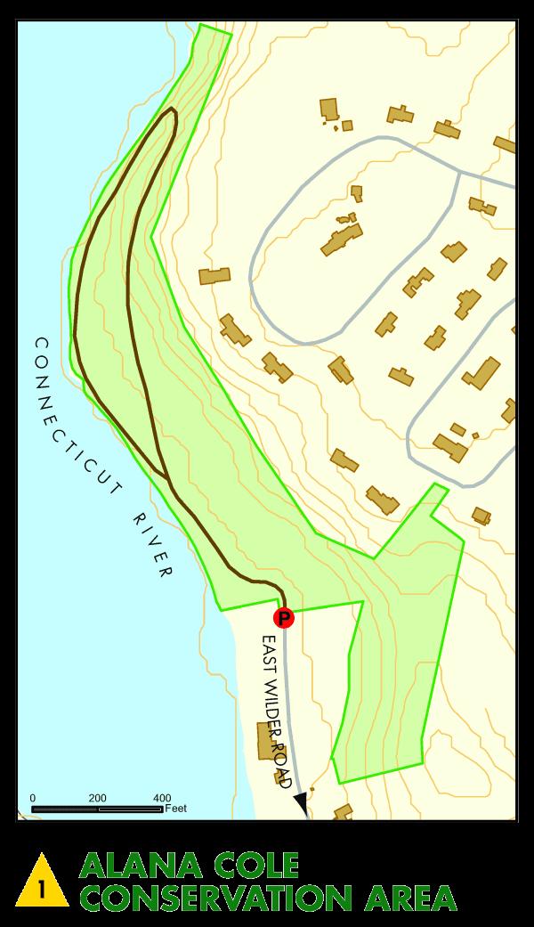 Alana Cole Conservation Area Map