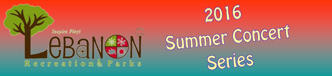 The logo for the Summer Concert Series.