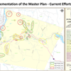 Implementation of the Master Plan-Current Efforts- Map for Community Meeting Presentation