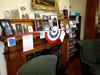 Lebanon Library Veterans Display