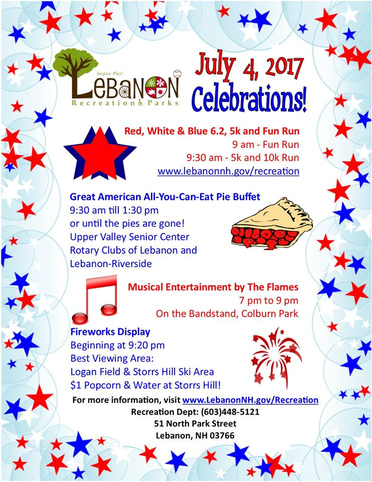2017 July 4th Flyer