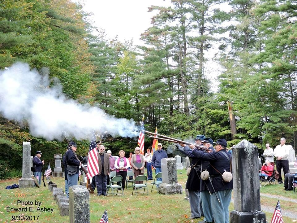 4th Annual Dedication Ceremony for the Civil War Veterans adopted 2016-2017. Photo submitted by Fran Opens in new window