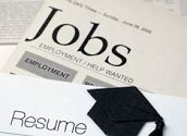 Newspaper and Résumé