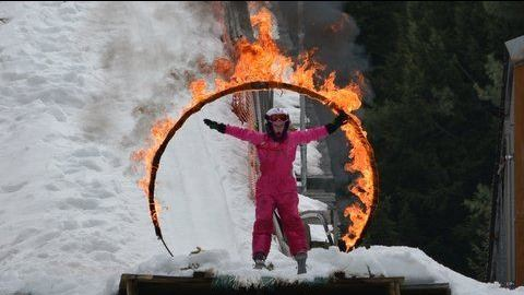 Ski Jumping Ring of Fire