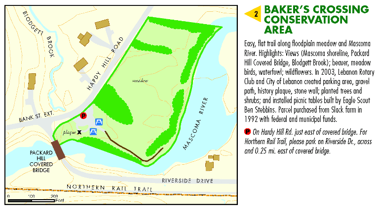 Baker's Crossing Conservation Area Map