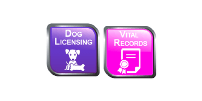 Online Dog License Renewals and Vital Record Requests now available
