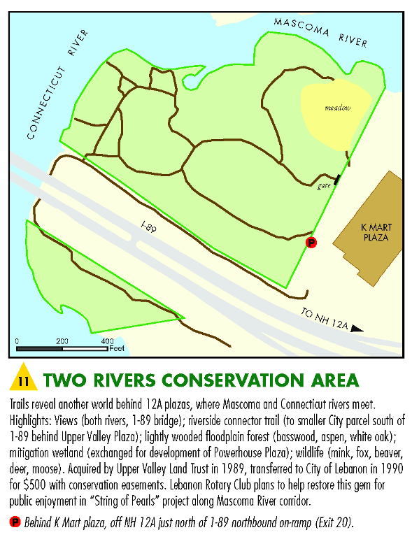 Two Rivers Conservation Area Map