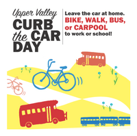 Curb the Car Day promo ad