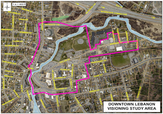 Downtown Visioning Study Update - Area Map