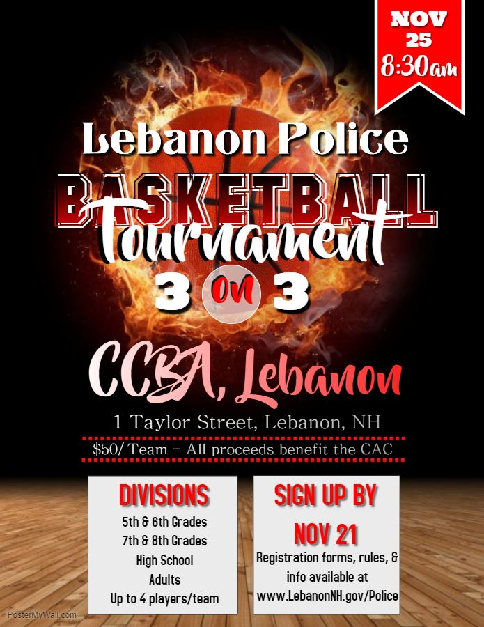 2018 Basketball Tournament Flyer
